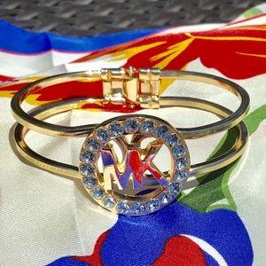 Michael Kors Jewelry - 🛍 Michael Kors Bangle Bracelet yellow gold tone